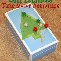 Christmas Fine Motor Activities {Fine Motor Friday}