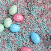 Easter Egg Hunt Sensory Counting Game
