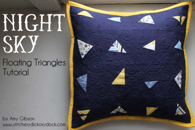 Night Sky Pillow Title