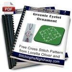 Greenie Eyelet Ornament
