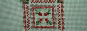 Ornament Cross Stitch by Laurel
