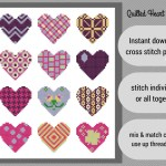 Quilted Heart Dozen