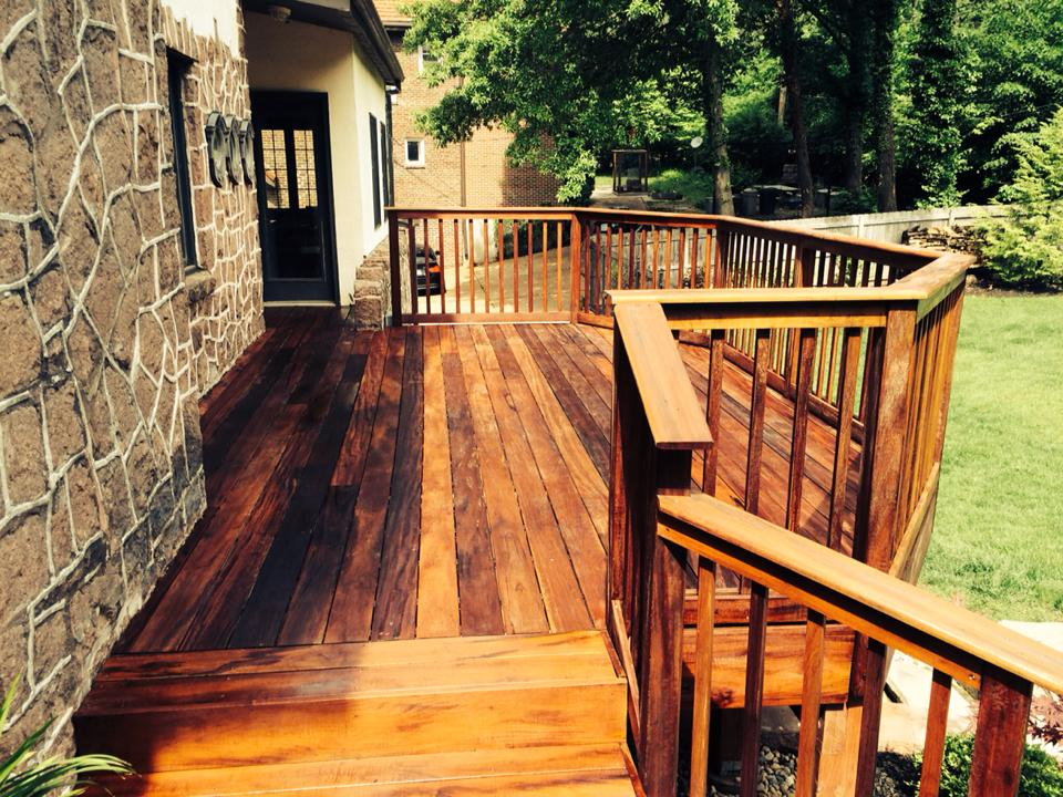 How To Stain A Deck Tips From A Deck Contractor | Apps Directories
