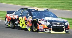 Jeff Gordon at Indy
