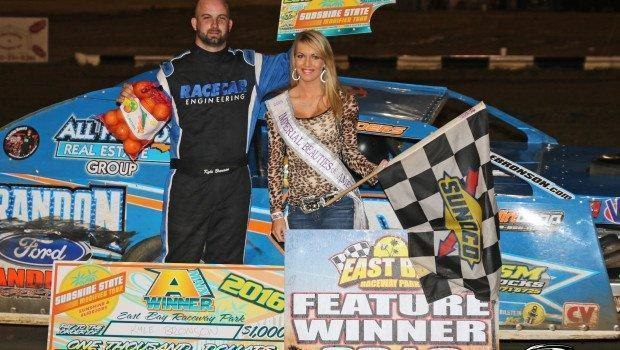 Kyle Bronson takes East Bay Raceway Park's Sunshine State UMP Modified Tour win!