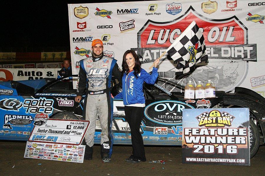 Zeigler Zips to Victory Lane at East Bay Finale