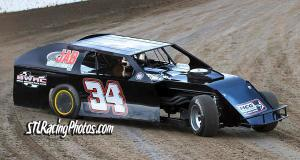 Dave Armstrong at Federated Auto Parts Raceway at I-55 on March 26th, 2016.