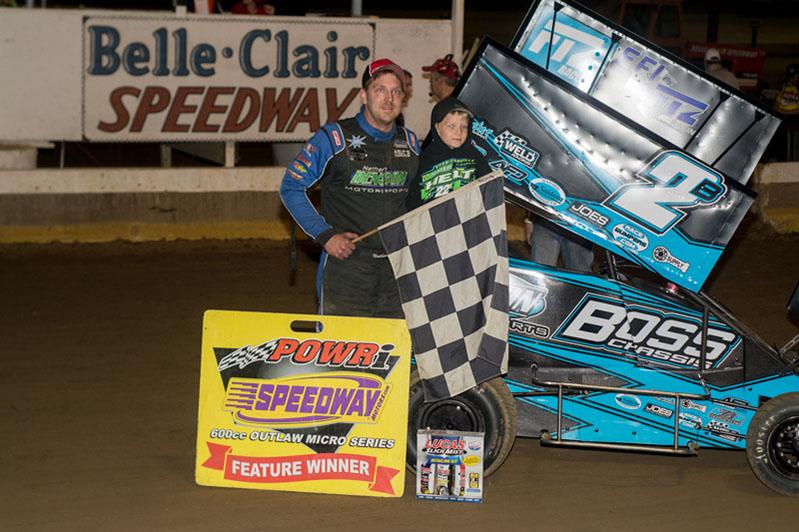 Felker and Benson Take Wins at Belle-Clair