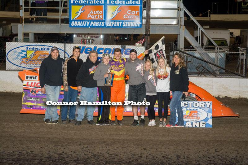 Gordy Gundaker, Michael Long, Jeff LeBaube, Chris Soutiea & Joe Laws take wins at Federated Auto Parts Raceway at I-55