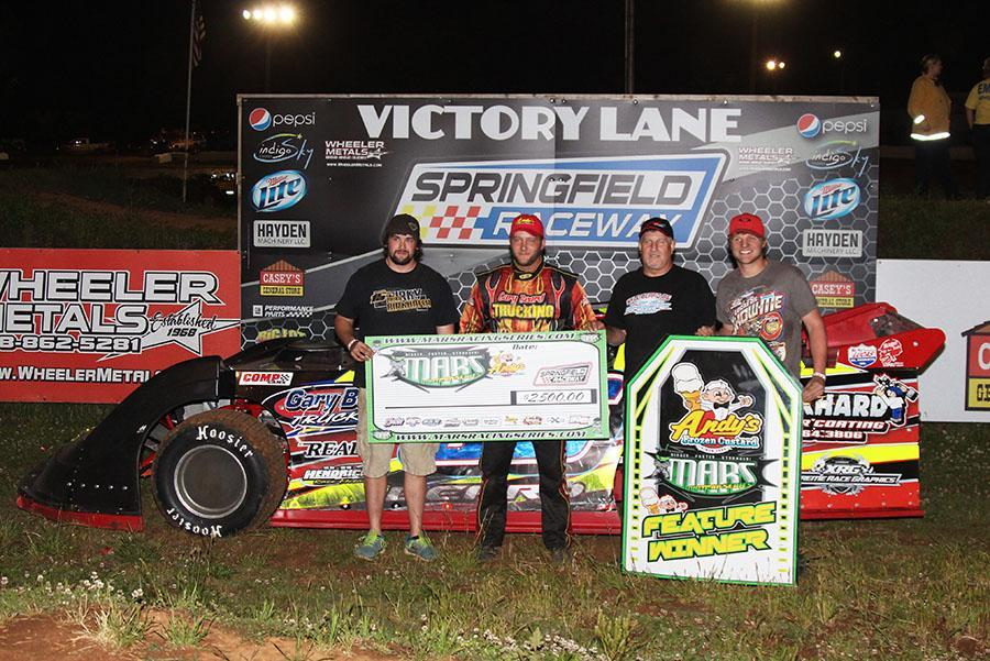 Kyle Beard takes MARS DIRTcar Series win at Springfield Raceway!