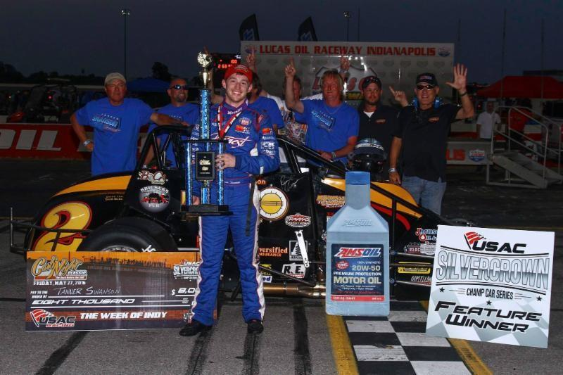 "TANNER TAKES ""CARB NIGHT CLASSIC;"" SWANSONS RUN 1-2 AT LUCAS OIL RACEWAY"