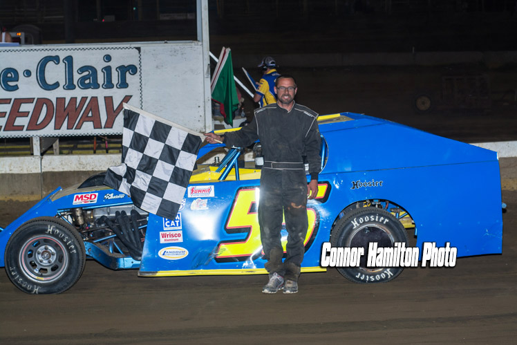 Marty Smith, Jr. takes B-Modified win at Belle-Clair Speedway