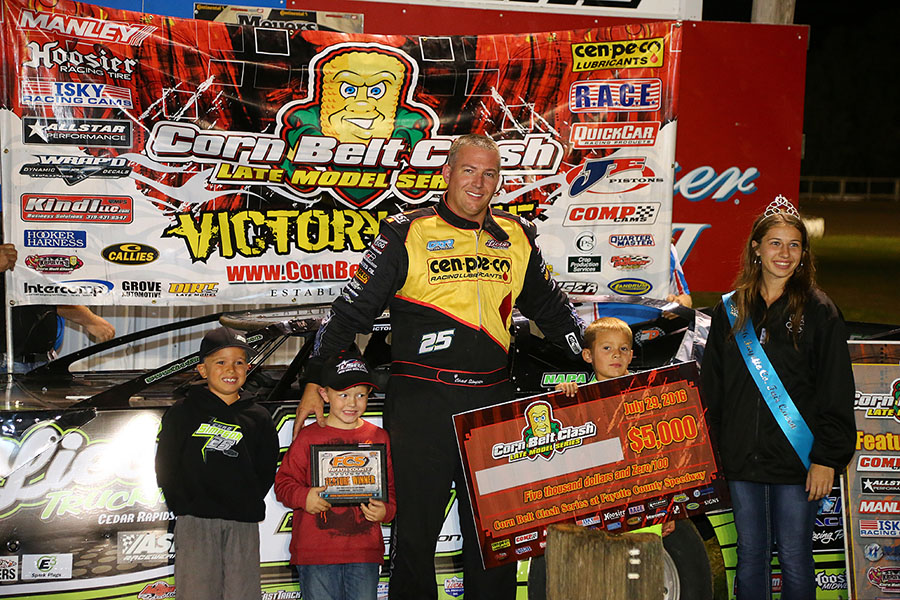 Chad Simpson Bags Big Bucks at Fayette County Speedway
