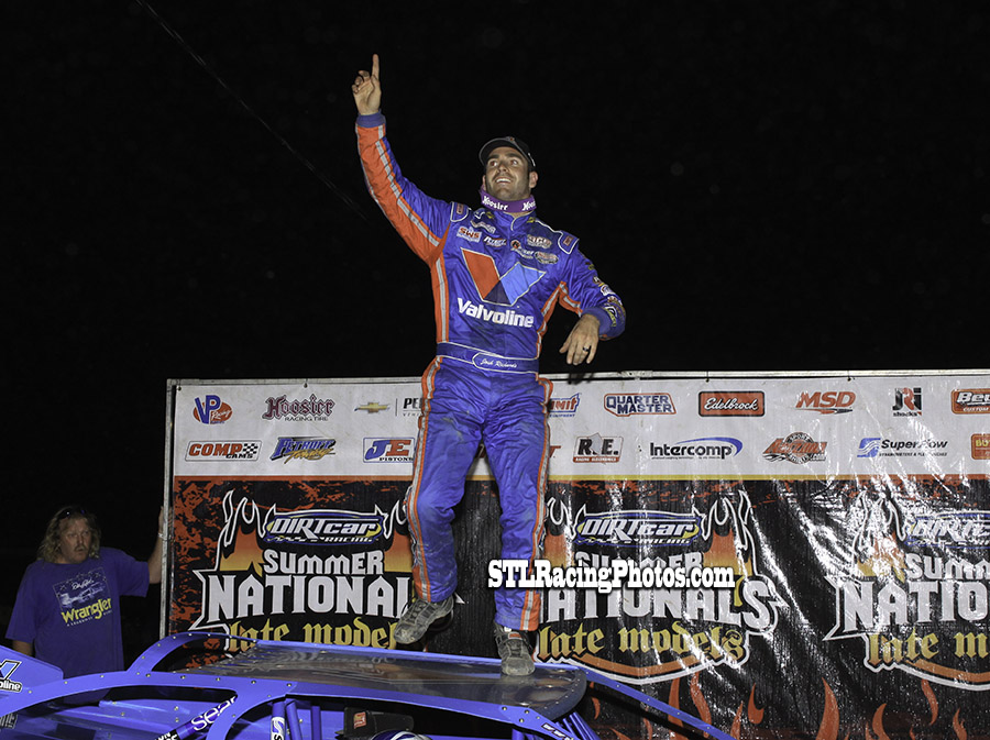 Josh Richards wins Fayette County Speedway UMP Summer Nationals!