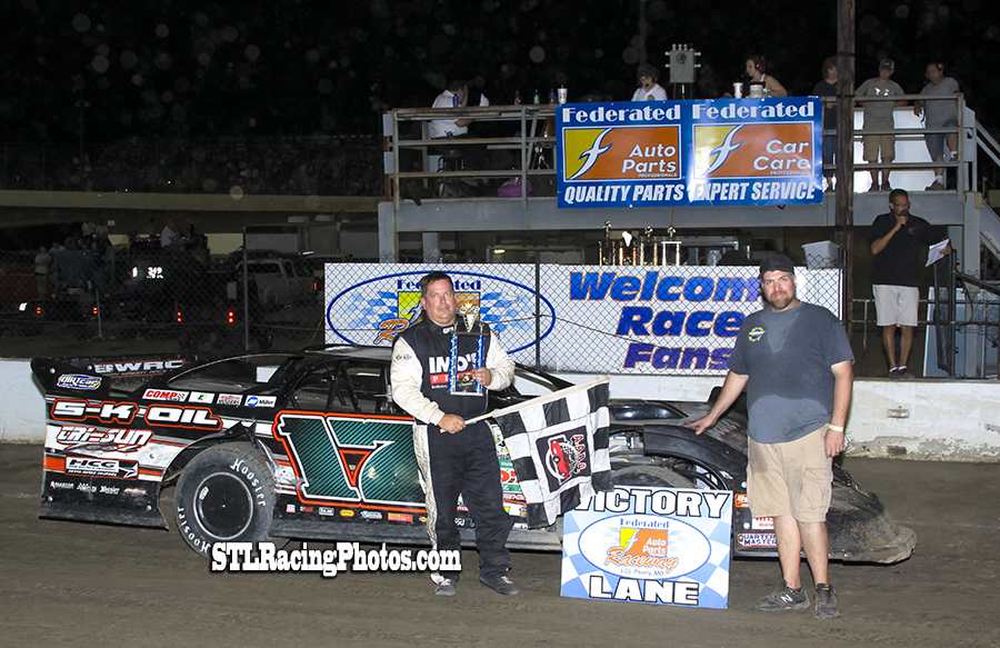 Jim Shereck, Michael Long, Jeff LeBaube, Troy Medley & Joe Laws take wins at Federated Auto Parts Raceway at I-55!