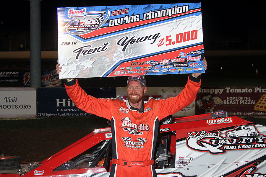 Trent Young Takes Summit Racing Equipment AMS Season Championship and Title at Florence Speedway