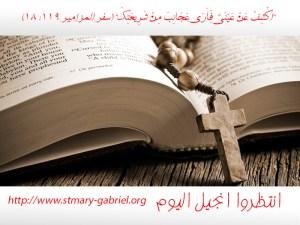 Permalink to:انجيل اليوم