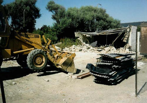 Games room demolition
