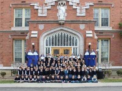St. Michael's Academy grade school students