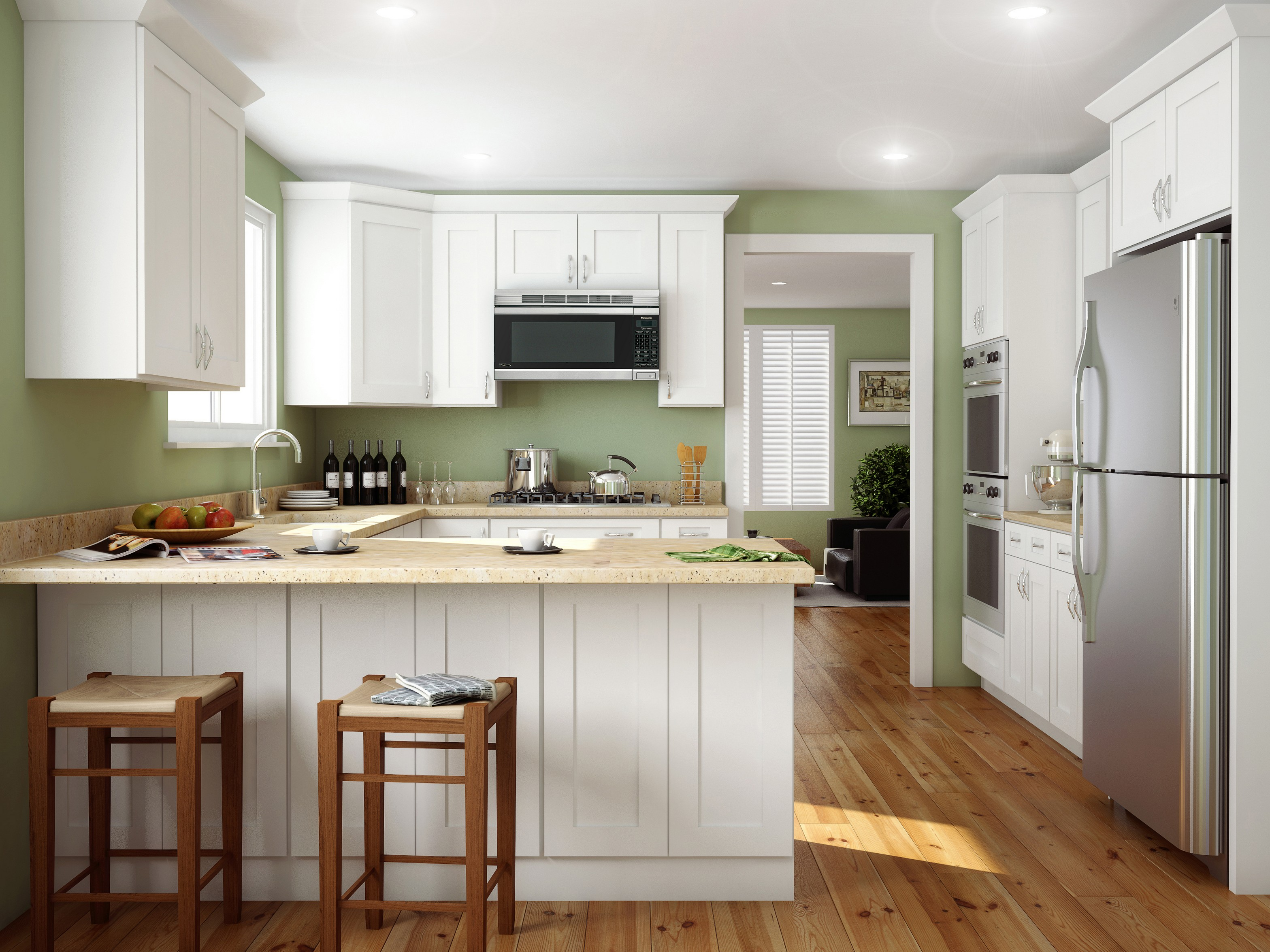 the shaker design style a true american classic shaker style kitchen cabinets Simple Shaker style kitchen with a contemporary twist Featuring our Ice White Shaker kitchen