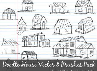 scribble-hand-drawn-doodle-house-vector-photoshop-brushes-pack