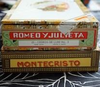 Cuban Cigar Boxes