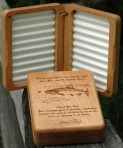 Dad's Fly Box with Personalized Inscription