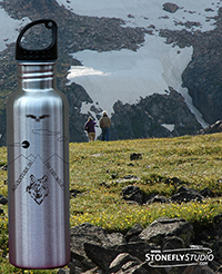 "INTRODUCING OUR ""INTO THE WILD WATER BOTTLE SERIES"""