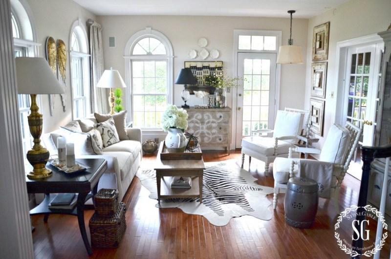 SUMMER HOME TOUR-living room-stonegableblog.com