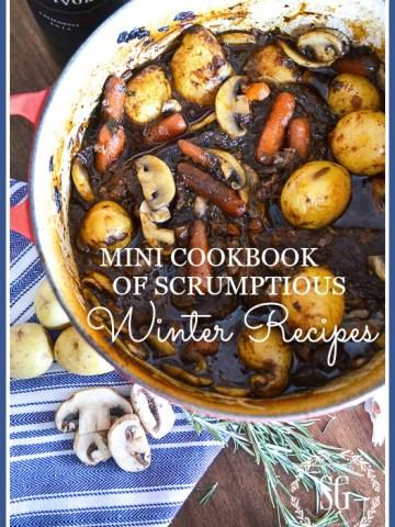 MINI COOKBOOK OF SCRUMPTIOUS WINTER RECIPES