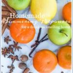 EASY HOMEMADE SIMMERING POTPOURRI