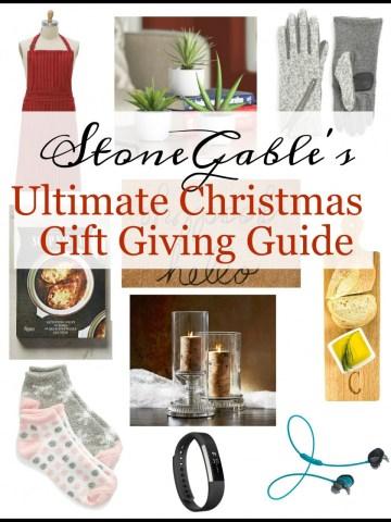 STONEGABLE'S ULTIMATE CHRISTMAS GIFT GIVING GUIDE