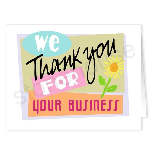 Medium Crop Of Business Thank You Cards