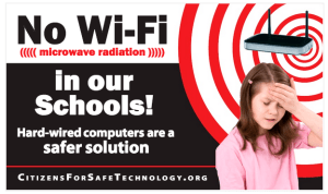 No Wi-Fi in our Schools!