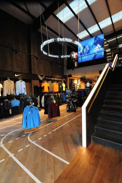 Lifestyle Sports Galway - Store Design