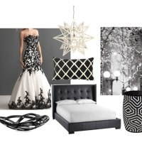 Fashion Influences: Black & White Decor