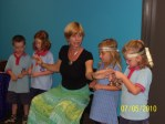 Star Festival song 'Tanabata Soma' with star children, Townsville