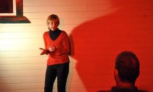 Jenni tells Mr Fox at Tintenbar Upfront May 2014