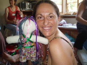 Juanita and doll small