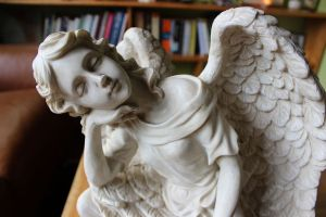 Our angelic mascot 2 donated by Clems Cargo storytree.com.au:goldentales April 2016