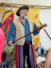 Salty Pete at Children's Festival, Woodford Folk Festival, 2011-12