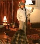 "Ol Jed aka Teeya tells ""The Heart on the Beach"" Byron Circle of Tellers member"