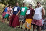 Male feminists wear skirts in India to protest rape culture