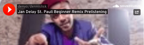 Beginners Jan Delay Sound St. Pauli