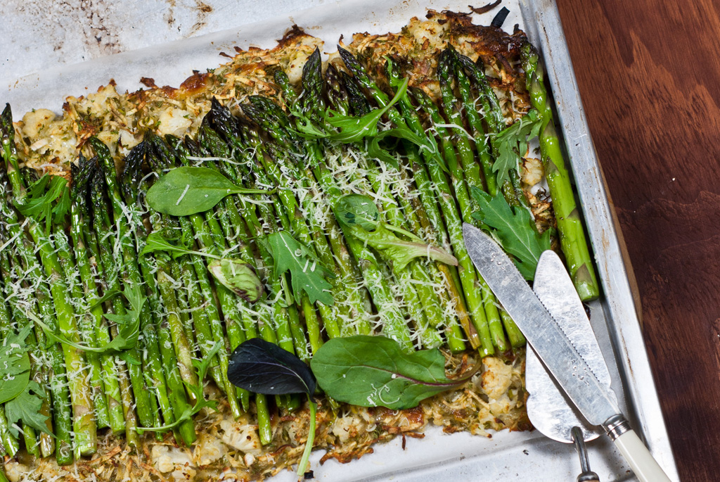 Asparagus and Vegetable Tart 1024