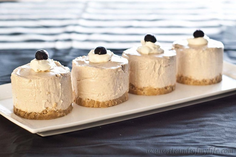 Banana Sour Cream Cheesecake - gluten-free and low FODMAP