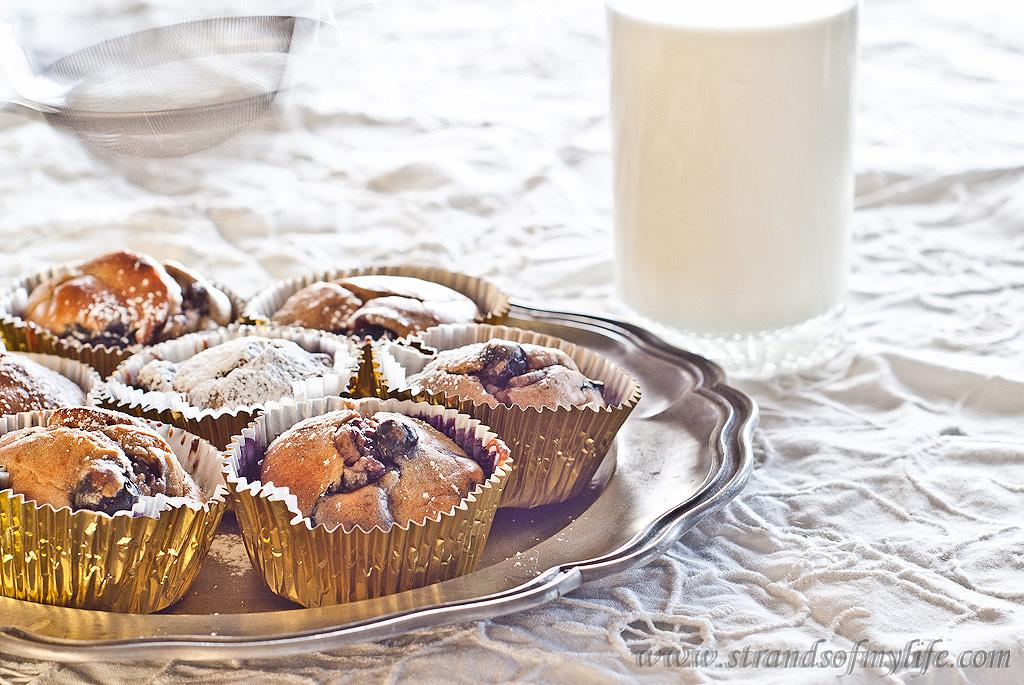 Peanut Butter Banana Muffins - gluten, grain, dairy and sugar-free