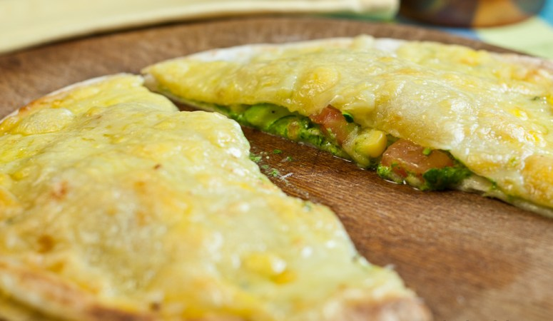 Spinach and Cheese Quesadillas – Low Fodmap and Gluten-Free