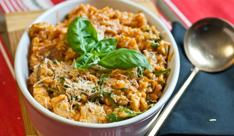 IBS Webinar Plus Pizza Risotto – Low Fodmap and Gluten-free