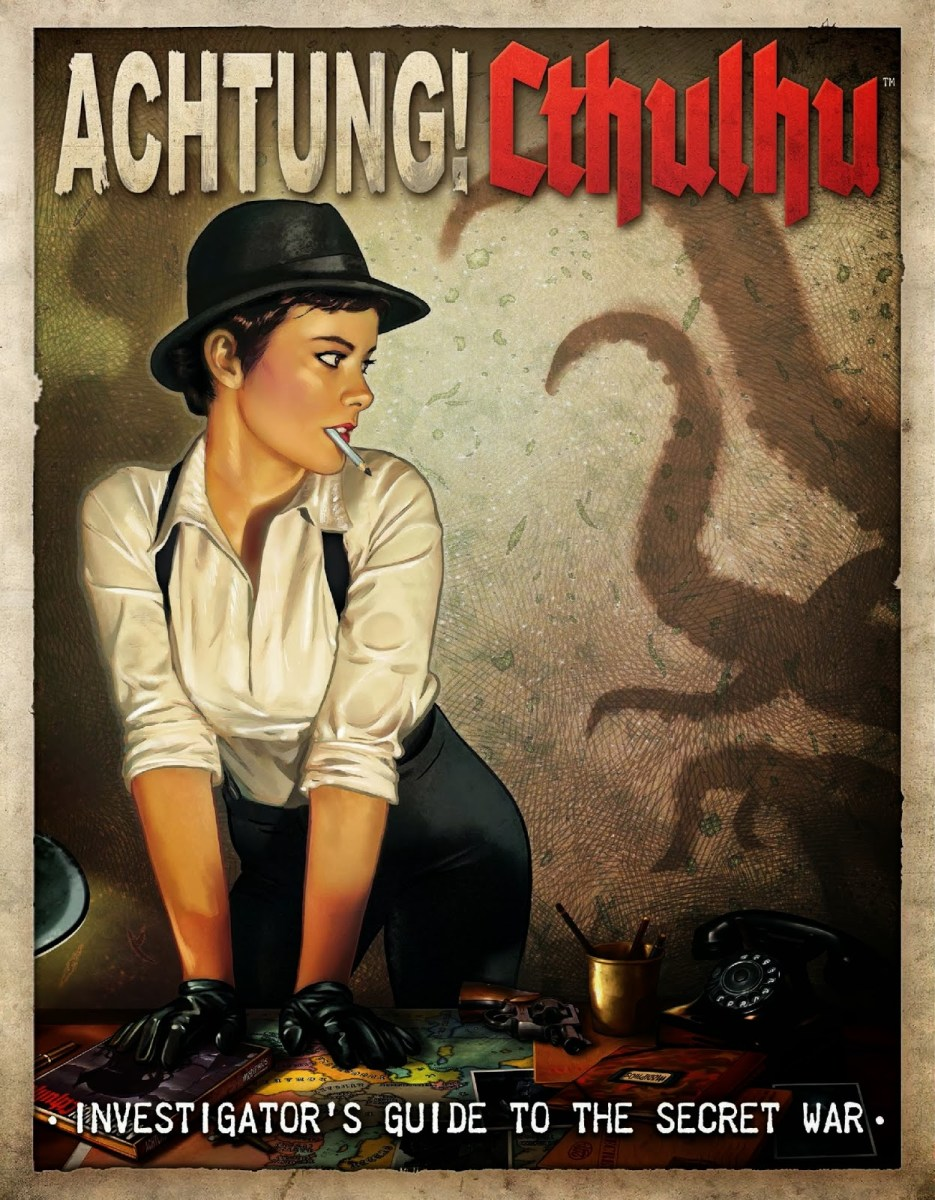 Review - Investigator's Guide to the Secret War (Achtung! Cthulhu)
